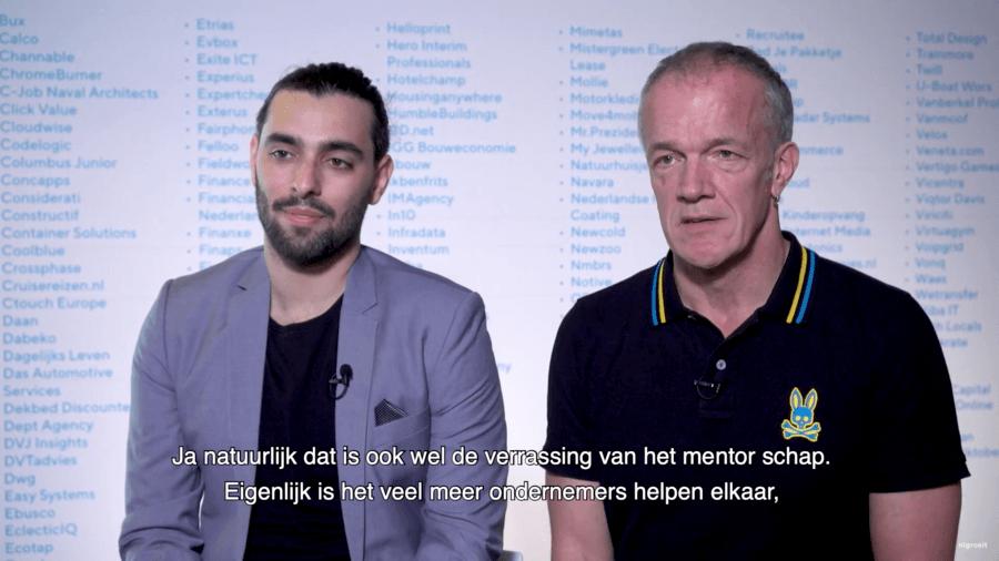 Interview over het mentortraject van Lova Kremer met mentor Lode Schaeffer